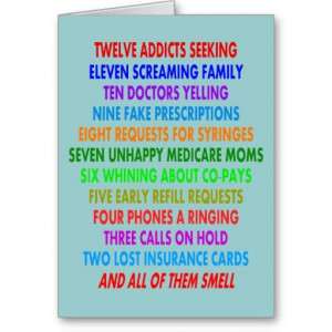 Funny Pharmacist Christmas Cards http://www.zazzle.com/funny ...