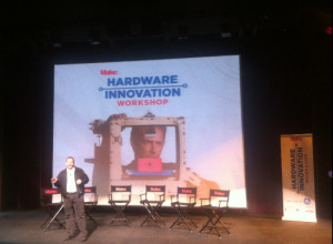 Dale Dougherty, founder of MAKE magazine and Maker Faire, introducing ...