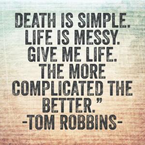 Tom Robbins.