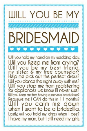 bridesmaid jpg maid of honor poems maid of honor poems here she is the ...