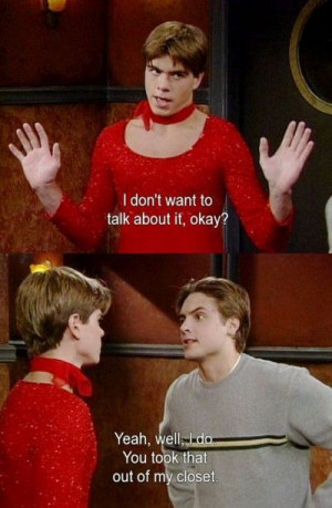 Jack Gets Caught Wearing Eric's Red Dress On Boy Meets World Quotes