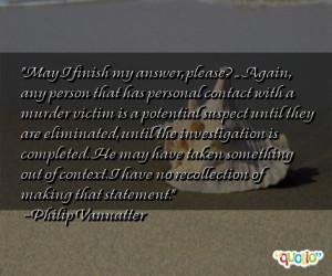 murder victim quotes
