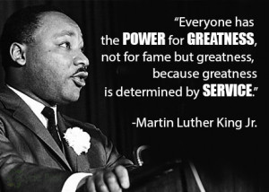 Serve the Environment on Martin Luther King Service Day