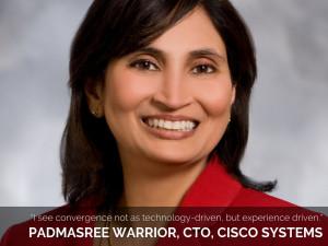Padmasree Warrior, CTO, Cisco Systems