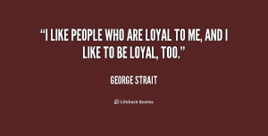 loyal person quotes