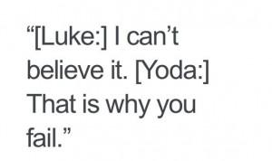 Love Yoda!)