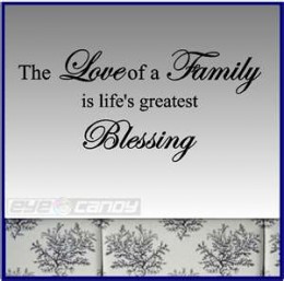 Nice Sayings About Family