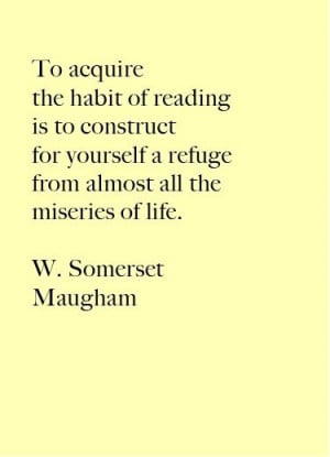 ... Quotes, Reading Quotes, Read Books, Baby Girls, Somerset Maugham, Good