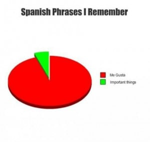 Spanish Phrases i remember