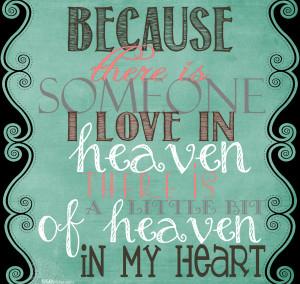 in heaven Happy Sunday Quotes