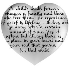 ... saturday s sayings true grievers more grief and loss quotes child