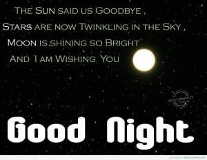 Flirty Good Night Category: good night