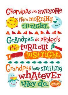 ... wonderful we appreciate everything you do happy father s day pop pop