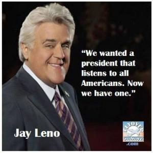 Jay Leno quote