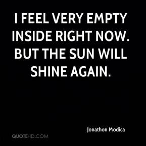 Feeling Empty Inside Quotes