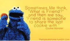 ... sesame street quote more sesame street cookie monster cookies monsters