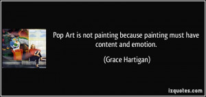 Quote Pop Art Not Painting