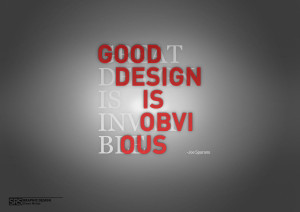 Graphic Design Quote III by Enn-SRSBusiness