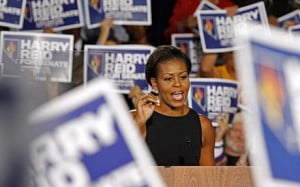 Michelle Obama helps us understand Right vs Left