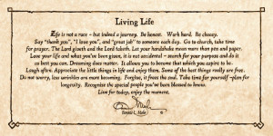 Living Life by Bonnie Mohr Life is Not a Race but Indeed a Journey Art ...