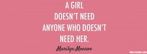 Quote Marilyn Monroe cover