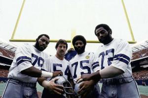 Doomsday Defense 79-Harvey Martin,54-Randy White,75-Jethro Pugh and 72 ...