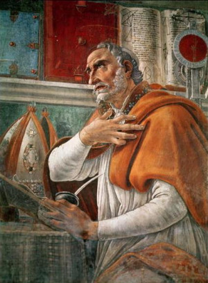 ... it. Let it loose; it will defend itself. ~St. Augustine of Hippo