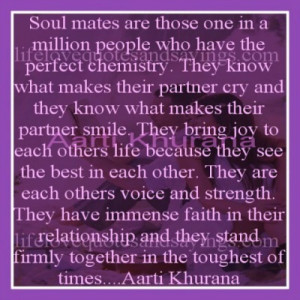 Soul mates… | Love Quotes And Sayings