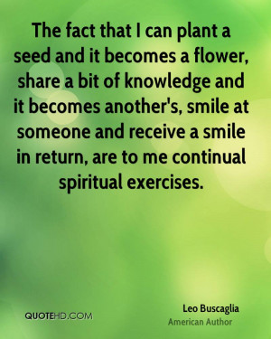 Quotes About Planting Seeds and Knowledge