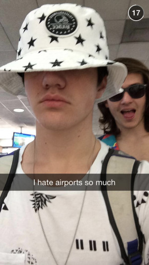 Aaron snapchatMagcon Snapchat, Aaron Carpenter, Aaron Today, Snapchat ...