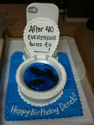 Pin Funny 40th Birthday Cake cake picture for pinterest and other ...
