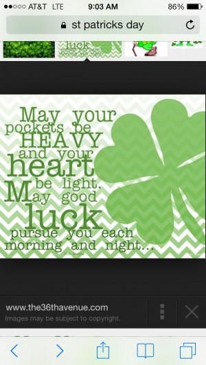 Saint Patricks day quote