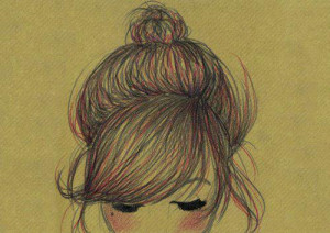 art, awesome, cute, drawing, drawings, girl, green hair, sketch