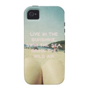 inspirational_quotes_vintage_beach_photo_summer_case ...