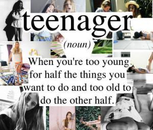 teenager, life
