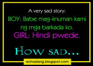 very sad story of a boyfriend