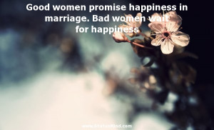 Good Women Promise Credited