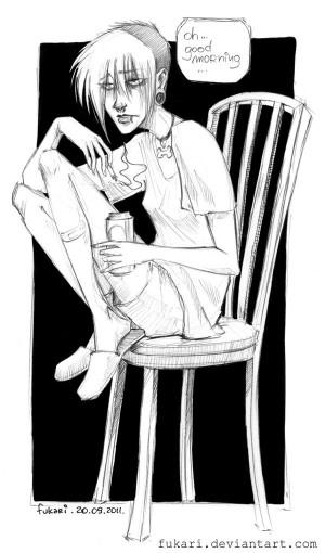 bad morning by Fukari