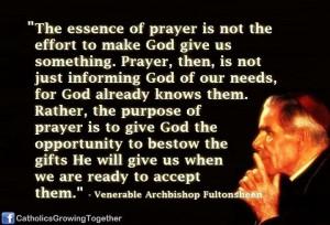 ... quotes   Venerable Archbishop Fulton J. Sheen   Catholic Saint Quotes