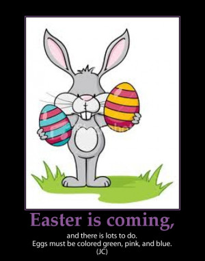 Funny Easter Busy Bunny