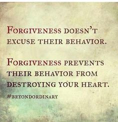That's why we don't hold grudges :) More