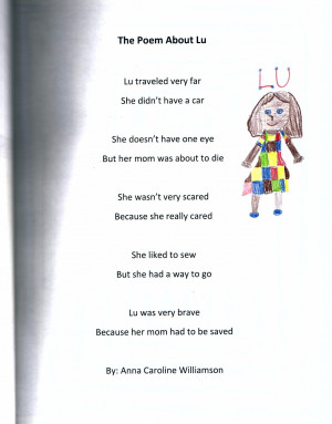 ... wonderful poems written by 5th grade students at Crestline Elementary