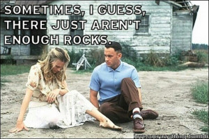 ... Gump, Quote, Forests Gump, Tom Hanks, Favorite Movie, Rocks, Jenny