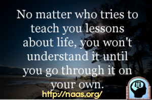 quotes about life and love and lessons learned