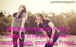... image include: best friend, cute, laughing, quotes and stomach ache