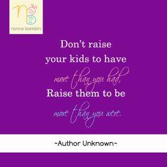 Raising Children Quotes