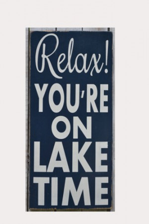 Sign Custom Wooden Wall Quote Sayings Beach Cabin River Mountains Pond