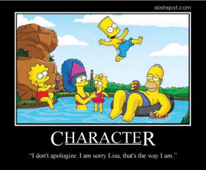 Homer Simpson Motivational Poster Character