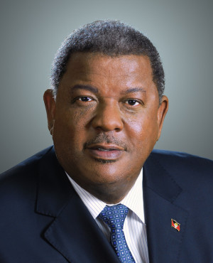 Antigua and Barbuda Prime Minister 2014