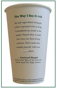 starbucks coffee cup quotes